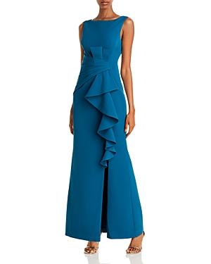 Eliza J Cascading Ruffle Gown-Women