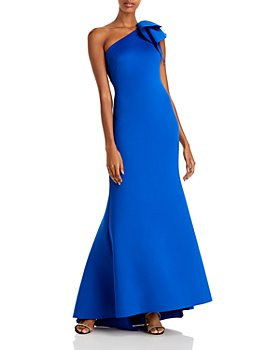 Eliza J - Ruffled One Shoulder Gown