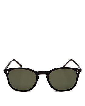 Oliver Peoples - Men's Finley Vintage Polarized Square Sunglasses, 49mm