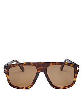 Tom Ford - Men's Thor Polarized Flat Top Square Sunglasses, 56mm
