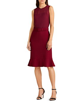 Ralph Lauren - Belted Fit and Flare Dress