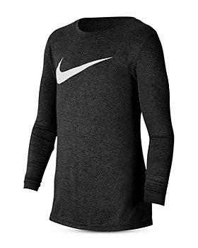 Nike - Boys' Long Sleeve Dri-FIT Tee - Big Kid