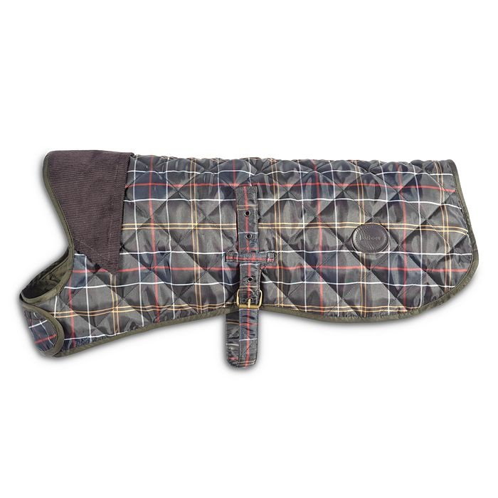 Barbour - Quilted Tartan Dog Coat