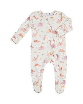 Angel Dear - Girls' Dino Floral Footie - Baby