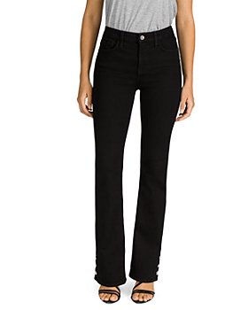 7 For All Mankind - Slim Bootcut Jeans in Black