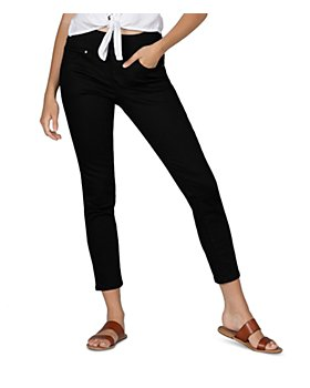 JAG Jeans - Nora Pull On Skinny Jeans in Forever Black