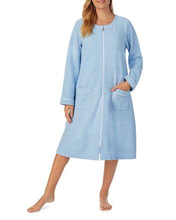 Eileen West - Quilted Zipper Robe