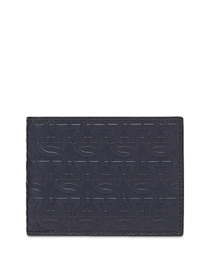 Salvatore Ferragamo Gancini Embossed Wallet