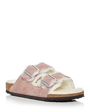 Birkenstock Women\\\'s Arizona Shearling Slide Sandals