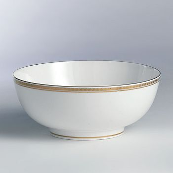 "Royal Crown Derby - ""Carlton Gold"" Salad Bowl"