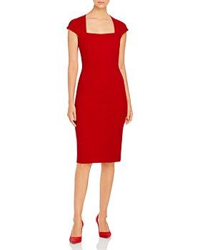 BOSS - Drilekara Houndstooth Jersey Dress