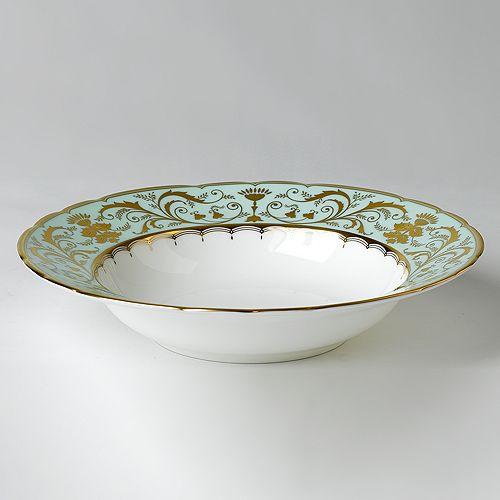 """Royal Crown Derby - """"Darley Abbey"""" Rim Soup Plate"""