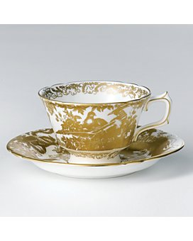 "Royal Crown Derby - ""Gold Aves"" Tea Cup"