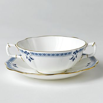"""Royal Crown Derby - """"Grenville"""" Cream Soup Cup"""