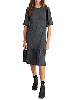 Velvet by Graham & Spencer - Brie Tiered Bubble Sleeve Dress