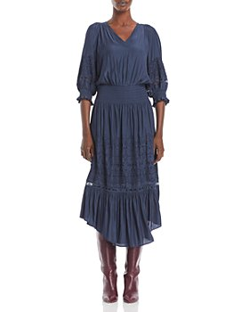Ramy Brook - Tanya Smocked Midi Dress