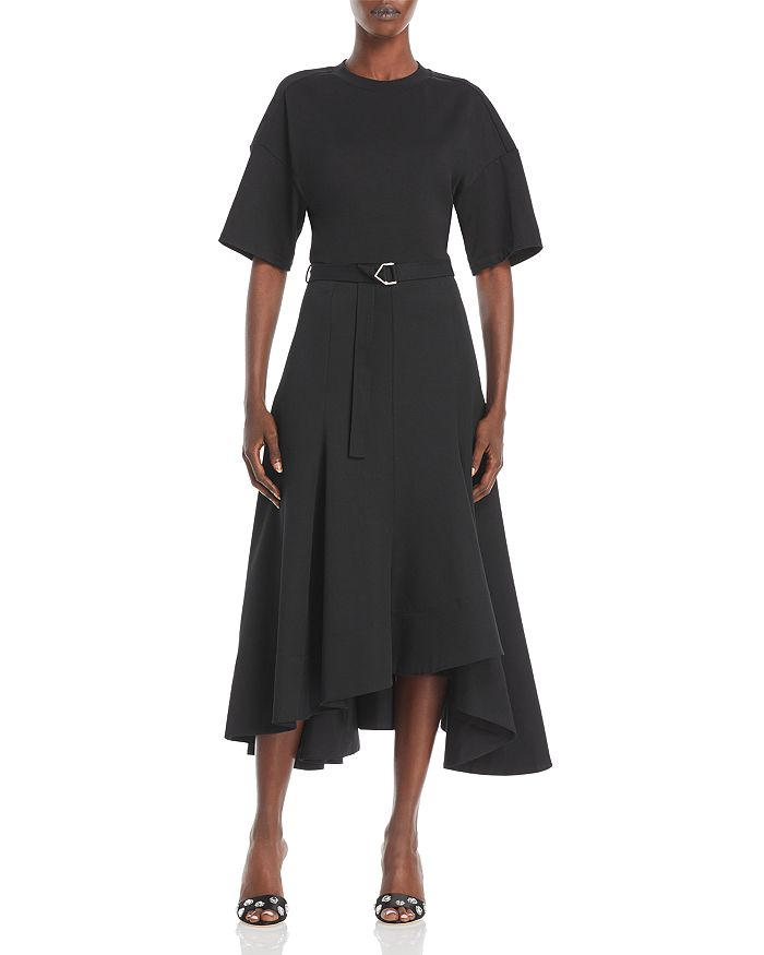 3.1 Phillip Lim - Asymmetric Hem T-Shirt Dress
