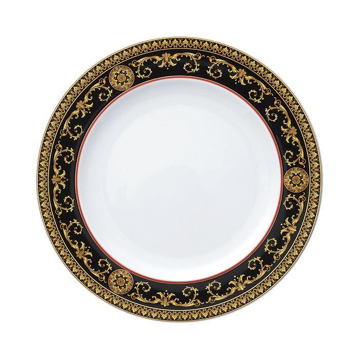 Versace Medusa Red Dinner Plate