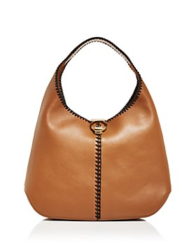 Salvatore Ferragamo - Margot Whipstitch Leather Hobo