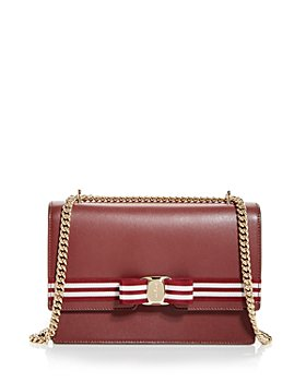 Salvatore Ferragamo - Vara Leather Shoulder Bag