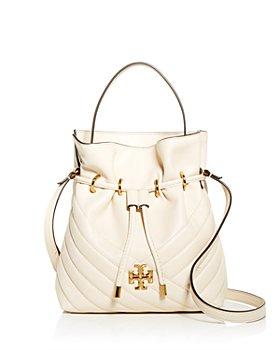Tory Burch - Kira Chevron Leather Mini Bucket Bag