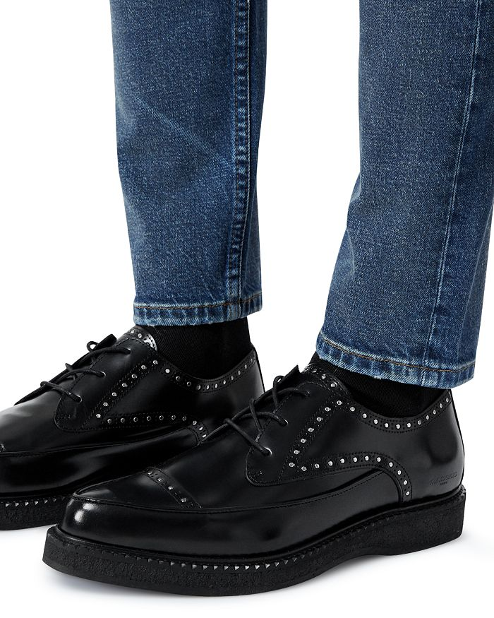The Kooples MEN'S STUDDED LEATHER LOAFERS