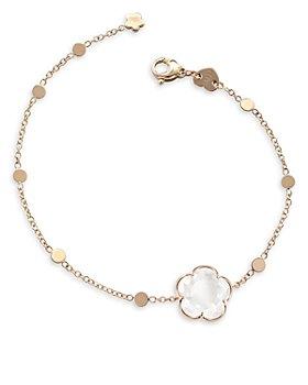 Pasquale Bruni - 18K Rose Gold Bon Ton Milky Quartz Bracelet
