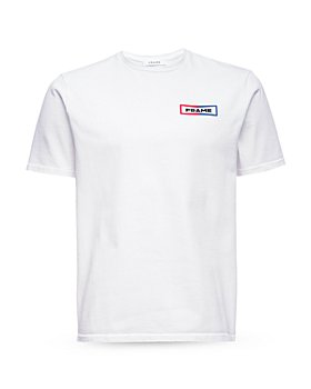 FRAME - Classic Fit Logo Tee