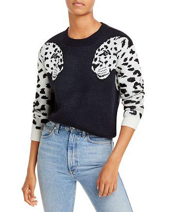 AQUA - Jaguar Sleeve Crewneck Sweater - 100% Exclusive