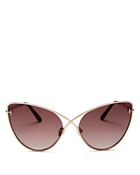 Tom Ford - Women's Leila Cat Eye Sunglasses, 63mm