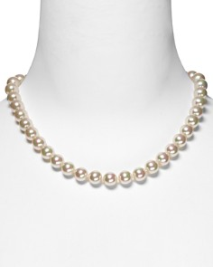 "Majorica 10mm Simulated Pearl Necklace 18"" - Bloomingdale's_0"