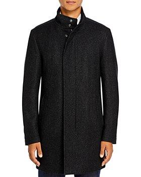 BOSS - Nieven Slim Fit Topcoat