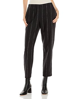 Eileen Fisher - Striped Tapered Ankle Pants