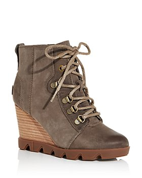 Sorel - Women's Uptown Waterproof Wedge Booties