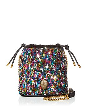 KURT GEIGER LONDON - Kensington Sequin Bucket Bag