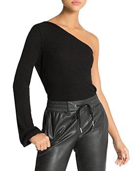 n:philanthropy - Dottie Ribbed One Shoulder Bodysuit