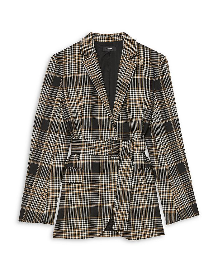 Theory - Belted Becket Blazer