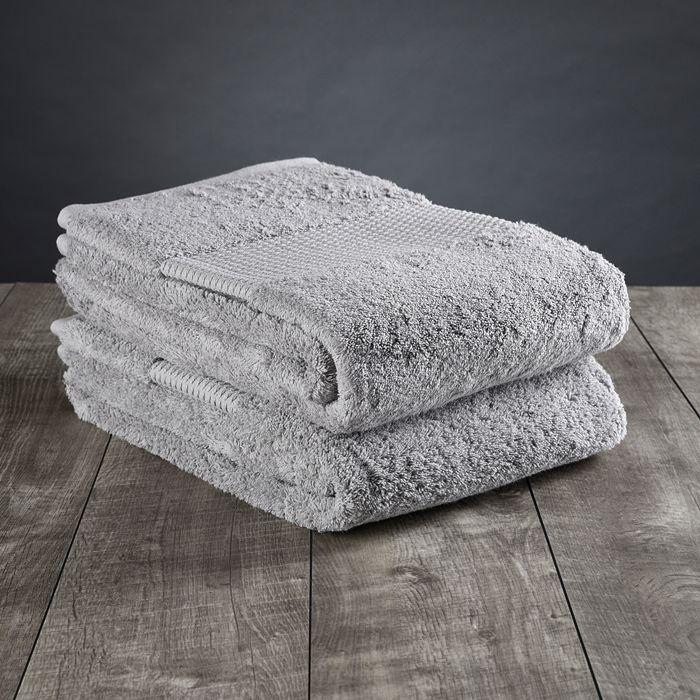 DELILAH HOME - Organic Cotton Bath Towels, Set of 2