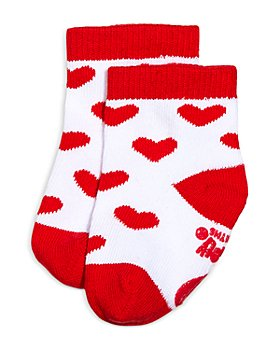 Sara Kety - Girls' Red Heart Socks - Baby