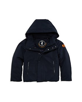Save The Duck - Boys' Hooded Parka - Little Kid, Big Kid