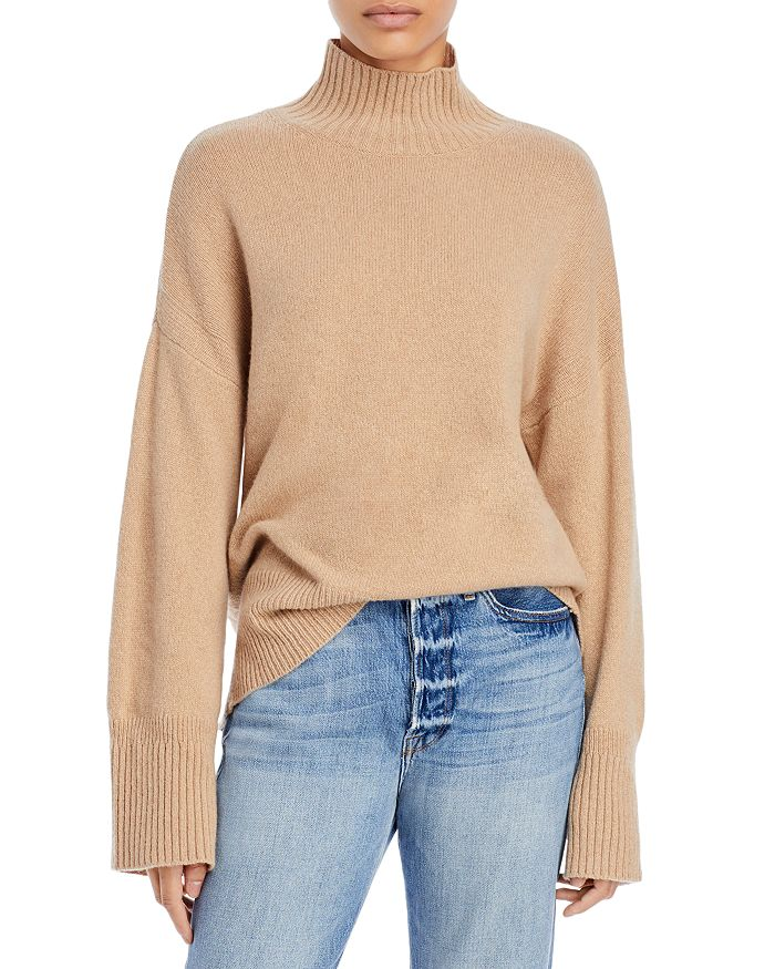 FRAME - High/Low Turtleneck Sweater