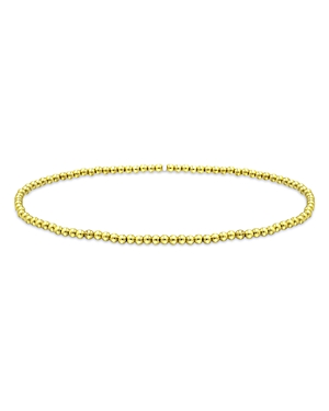 Aqua 2mm Beaded Stretch Bracelet - 100% Exclusive