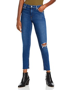 rag & bone - Cate Mid-Rise Ankle Jeans in Rue