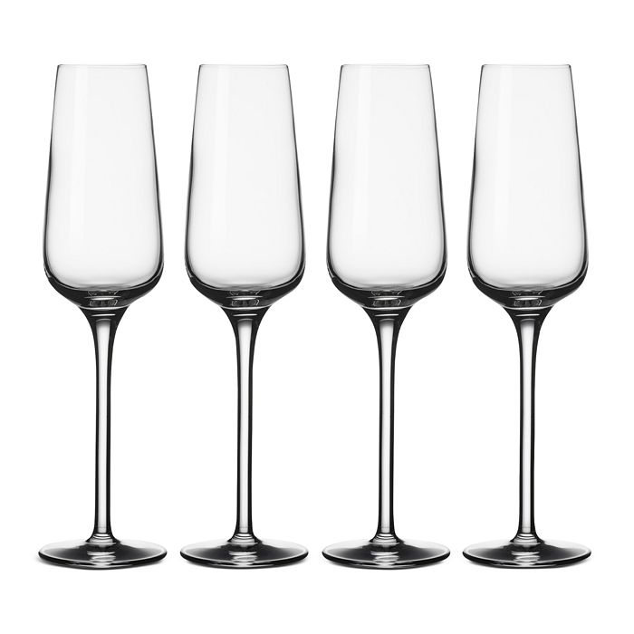 Villeroy & Boch - Voice Basic Reims Champagne Flutes, Set of 4