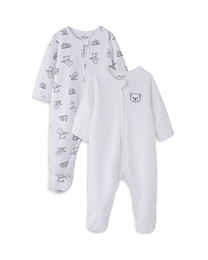 Little Me Boys\\\' Playtime Footed Coverall, 2 Pack - Baby-Kids