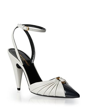 Saint Laurent - Women's Alma 95 Ring Pumps