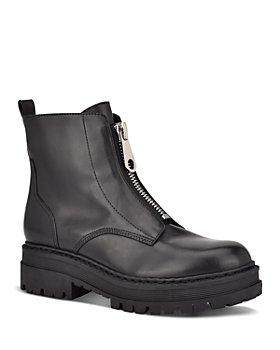 Marc Fisher LTD. - Women's Paralee Front Zip Leather Booties