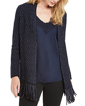 NIC and ZOE - Petites Sparkle And Shine Fringe Cardigan