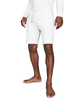 REISS - Tyne Melange Drawstring Shorts