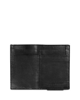 Shinola - Split Leather Money Clip Bifold Wallet